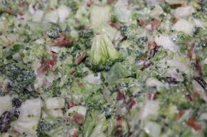 Kremet brokkolisalat og laks